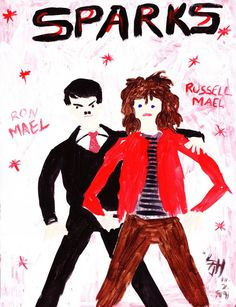 Sparks (Ron Mael, Russell Mael) by rtype5000