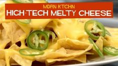 Most cheeses aren't very good at melting and you have to resort to a processed cheese food product like Velveeta for your nachos, cheesesteak sandwiches, etc. Culinary weblog Chow reports that adding a pinch of sodium citrate will keep your cheese from separating so you can enjoy good quality melty cheese.