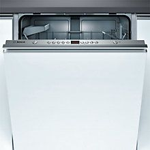 Buy Bosch SMV53A00GB Integrated Dishwasher Online at johnlewis.com