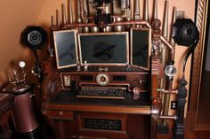 steampunk furniture | information about, and lots of photos of, the Rosenbaums Steampunk ...