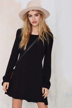Nasty Gal Stop Short Cutout Dress - Day | Going Out | LBD | Dresses