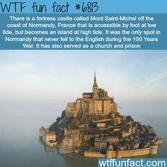 WTF Fun Facts is updated daily with interesting & funny random facts. We post about health, celebs/people, places, animals, history information and much more. Oh The Places You'll Go, Cool Places To Visit, Places To Travel, Wtf Fun Facts, Funny Facts, Random Facts, Mont Saint Michel, Thinking Day, Future Travel