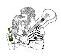 Uma Heineken e um violão pra acompanhar o nosso amor