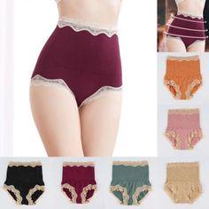 ef906ba82ad3a Women s High Waist Body Shaper Brief Underwear Tummy Control Panties  Shapewear