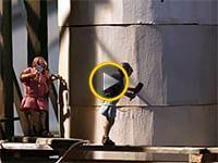come fu costruita  la Colonna Traiana