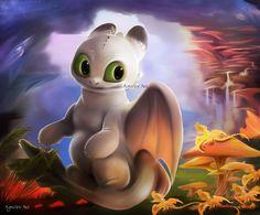 Night Light by Agnielov on DeviantArt Httyd Dragons, Dreamworks Dragons, Cute Dragons, Imagine Dragons, Httyd 3, Baby Night Light, Warrior Cats Art, Dragon Games, Dragon Trainer