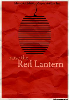 Raise the Red Lantern: China in the 1920s. After her father's death, 19 year old Songlian is forced to marry Chen Zuoqian, the lord of a powerful family. Fifty year old Chen has already three wives, each of them living in separate houses within the great castle. The competition between the wives is tough, as their master's attention carries power, status and privilege. Each night Chen must decide with which wife to spend the night and a red lantern is lit in front of the house of his choice.
