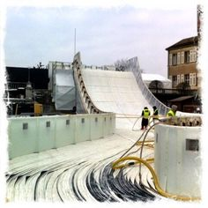 Icemakers for Red Bull Crashedice Lausanne