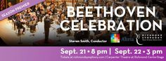 Individual tickets starting at $10 for Beethoven's Eroica!  Not to be missed! Tickets online at richmondsymphony.com or 1.800.514 ETIX