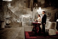 Wedding more than 100 meters underground? The Wieliczka are restaurants, hotels, tennis courts and all more than 100 meters underground. we invite you to Poland