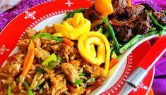 Surinaams eten – Nasi Trafasie Kippenlever (nasi met luxe lkippenever delicatesse)