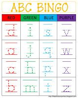What a great way to practice letter formation as well as recognition!  Genius!