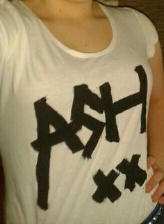 "My ""ASH xx"" shirt"