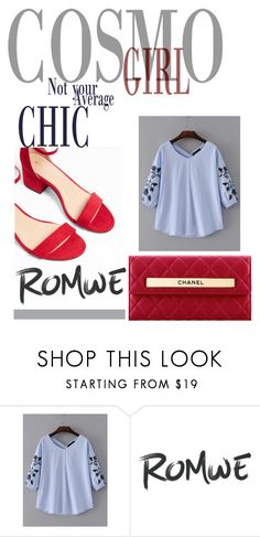 """""""Cosmo Girl"""" by el3n4 ❤ liked on Polyvore featuring Express and Chanel"""