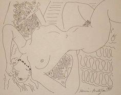 "Henri Matisse ""Nu Étendu"" 1935."