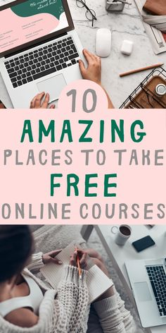 Whether for lifelong learning or professional development, online courses are great ways to learn. Here are the 10 best platforms for online courses. Best Online Courses, Free Courses, Free Learning Websites, Online College Classes, Best Free Apps, Online Courses With Certificates, Online Tutoring, Professional Development, Web Development