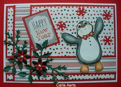 carlasknutselateljeeke: Happy New Year Finn