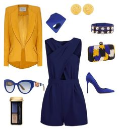 """How to wear Blue..."" by martina-b33 ❤ liked on Polyvore featuring Santi, Marni, Sergio Rossi, Ben-Amun, Marc by Marc Jacobs, Hebe Studio, Dolce&Gabbana and Guerlain"