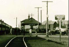 Train Station, Tupper Lake, N. Y.