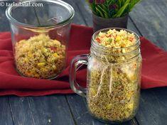 Quinoa, Corn and Capsicum Salad recipe Making Quinoa, How To Cook Quinoa, Lemon Herb, Healthy Grains, Sweet Corn, Quinoa Salad, Food Photo, Healthy Choices, Salad Recipes