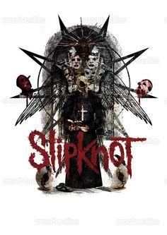 Slipknot Merchandise Graphic by KingG on CreativeAllies.com Metal Band Logos, Metal Bands, Rock Bands, Slipknot Tattoo, Musica Metal, Bullet For My Valentine, Trash Polka, Music Pics, Metal Artwork