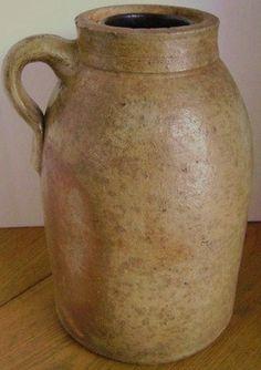 ! antique canning crock
