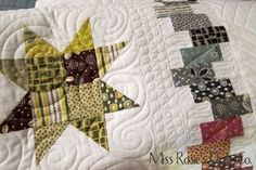 Bounce, a pattern by Miss Rosie's Quilt Company.  Made with Chicopee by Hope Valley Fabrics.