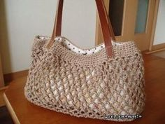 Simple Net Crochet Bag: free pattern by latoya