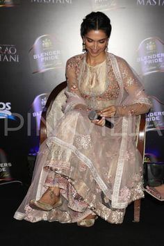 Deepika Padukone launched a new song, 'Deewani Mastani', from her upcoming film 'Bajirao Mastani' at an event on the capital earlier today and the be...