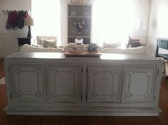Sideboard/Buffet grey or white as sofa table