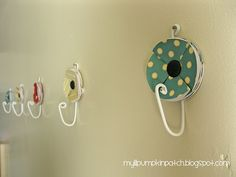 super cute and easy wall hangers
