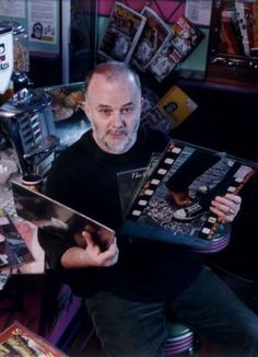 Now you can explore John Peel's record collection: Online archive will allow music fans to explore legendary DJ's albums and studio Vinyl Record Shop, Vinyl Records, Dj John, John Peel, Online Archive, Record Collection, A Comics, Music Stuff, Album Covers