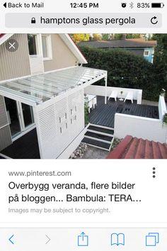 Outdoor Furniture Sets, Outdoor Decor, Sun Lounger, The Hamptons, Outdoor Living, Living Spaces, Pergola, Glass, Home Decor