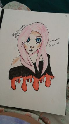A drawing by Fae. X3 She's very cute and Fae is this Admin. Mhm anways have a nice day.