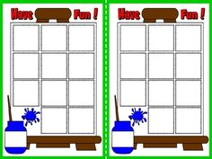 Colours - Board Game (Vocabulary Card)