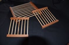 Cooling Racks by TG Designs. TG Designs is owned by Tina and Gene King. Wood is in our blood. For generations both of our families were connected to woodworking, crafting and carpentry. Although we started in different directions, Gene a military carrier and Tina as a musician and teacher, We have drawn on our family history and now are following in the family traditions. Our goal is to revive the craftsmanship of the past and give it new life for today's generations.