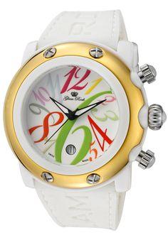 #GlamRock #watch #womanswatch Rock Watch, Beach Casual, Casual Watches, Glam Rock, Miami Beach, Digital Camera, Baby Items, Stuff To Buy, Chronograph