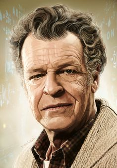 Fringe one of the best science fiction tv series.  Walter Bishop, Ph.D by Fungila
