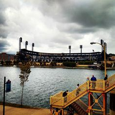 "tomasleonv: ""PNC Park - Pittsburgh Pirates  #instagram #instamood #instadaily #baseball #colors #instagramers #picoftheday #pic #nfl #ohio #pennsylvania #clouds #usa #trip #travel #photooftheday #photo #cold #winter"""