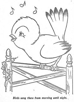 Coloring Pages: Happy Elf