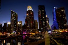 #DubaiMarina. Just as beautiful as in day light