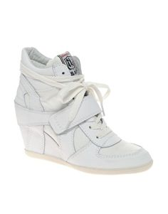 [Bowie Wedge Sneakers - Ash @ ASOS] Sold out, but considering this style.