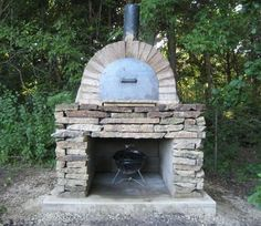 Outdoor Stone Oven • Nifty Homestead