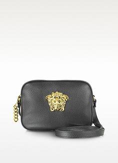abcfafa305 Gramercy Crossbody Bag - Versace Black Leather Crossbody Bag