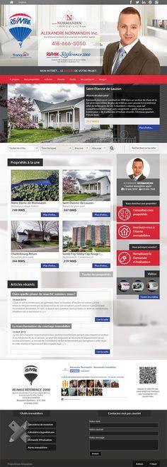 Alexandre Normandin - courtier immobilier #REMAX #Aliquando #immobilier #vendre #acheter #maison #habitation #web #design #webdesign http://normandinimmobilier.com/