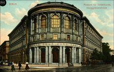 Berlin - Königliches Museum für Völkerkunde, um 1905 (heute in der Stresemannstrasse,das Gebaeude existiert nicht mehr)