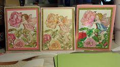 Zack's Nana's Creative Imagination: Roses and Fairies