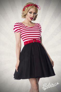 Kleid kurz 70er mode stile