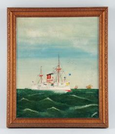 Original Oil on Canvas : Lot 760