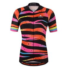 a22121878 Cycling Team Women Short Sleeve Jersey Top Breathable Bike Wear. Cycling T ShirtsCycling  ClothingCycling OutfitWomen s Cycling JerseyMtb BikeBicycleBike ...
